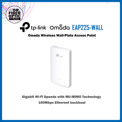 EAP225-Wall Omada Wireless Wall-Plate Access Point